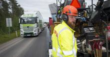 Svevia förbättrar vägar i Västerbotten