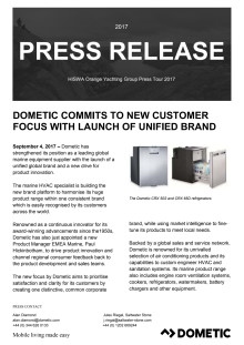 Dometic Commits to New Customer Focus with Launch of Unified Brand