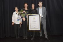Kvalitetsutmärkelsen Bättre Skola 2017 delades ut under varma applåder