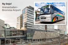 Flygbussarna startar ny linje i Stockholm