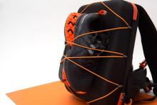 Smidig ryggsäck för löpare!
