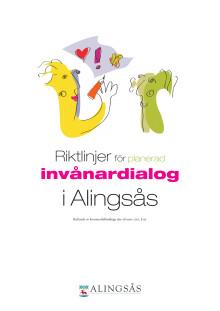 Riktlinjer för planerad invånardialog i Alingsås