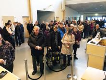 Mer än dubbelt så många besökte Nolia Höst andra dag