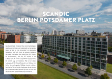 Pressemappe Scandic Berlin Potsdamer Platz DE