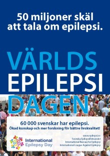 Världsepilepsidagen -  epilepsi har inga gränser!