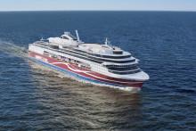 Viking Lines nya fartyg tar mer gods till havs