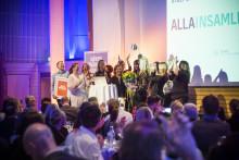 Stockholms Stadsmission, Röda Korset och ECPAT är Årets insamlare