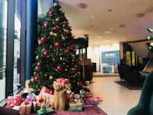 Insamlingsrekord av julklappar till barn