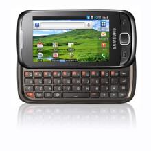 Samsungs första androidmobil med framskjutbart tangentbord