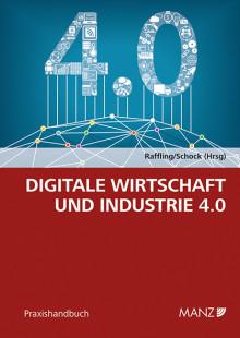 """Neu bei MANZ: Handbuch """"Digitale Wirtschaft und Industrie 4.0"""""""