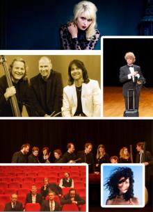 Abonnemangsserien våren 2013 – klassisk barock, galenskap, amerikansk folkrock och sambatoner