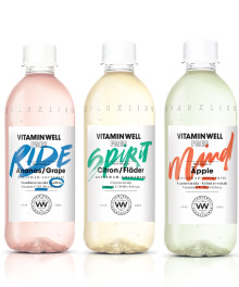 Nyhet! Vitamin Well Free – kolsyrad och sockerfri