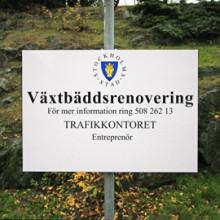 Trafikkontoret informera om ett grönare Stockholm