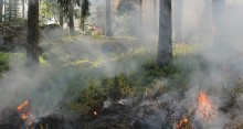 Var försiktig vid eldning och grillning
