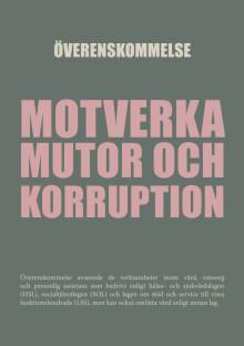 Överenskommelse för att motverka mutor och korruption