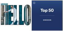 """Mohombi laddar för final och är 4:a på Spotifys Topplista med """"Hello""""!"""