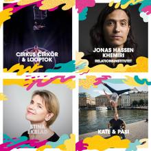 Upp i luften, ner under däck och rakt in i hjärtat med Malmöfestivalen!