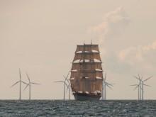Briggen Tre Kronor och Initiativet Hållbara Hav till Oxelösund