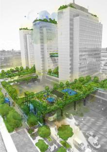 Tätare bebyggelse kan ge grönare städer