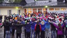 Gerestaskolan i Härnösand vann priset Årets Peppare på Idrottsgalan