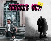 Ben Mitkus och Lamix uppträder på School's Out i Kungsbacka