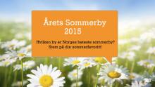 Årets Sommerby 2015 er i gang på Reiseguiden