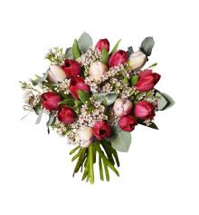Interflora spår tulpanfrossa till Alla hjärtans dag