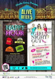 PRESS RELEASE: ALIVE AFTER 5 AT CLARKE QUAY