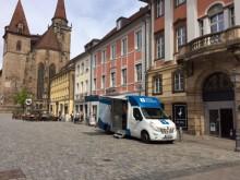 Beratungsmobil der Unabhängigen Patientenberatung kommt am 11. Oktober nach Ansbach.