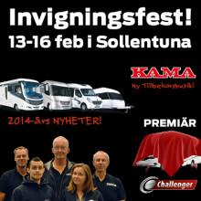 Missa inte vår invigningsfest i Sollentuna!