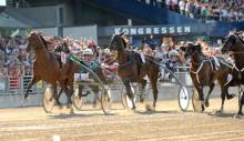 Elitloppet med Extra V75: Bra startspår för flera av de svenska hästarna