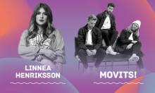 Linnea Henriksson och Movits! till Linköpings Stadsfest