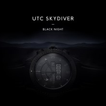 Sjöö Sandström lanserar UTC Skydiver Black Night