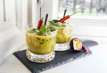 Sommerens mocktail med Aloe Vera - ​SPICY GOJITO