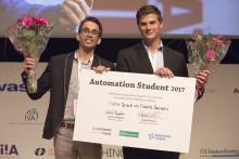 Arbete om monteringsinstruktioner vann Automation Student