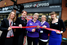 a8baf07c0f6  Local Stroke Survivor Officially Opens Formby Vision Express Store