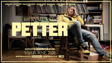 """Petter på riksturné med ny & unik föreställning – """"En kväll med Petter"""", premiär 13 februari 2020!"""