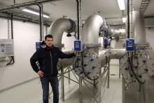 Christian Berner AB levererar UV-aggregat till Mariebergs vattenverk i Uddevalla
