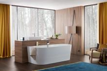 Evolution perfekten Designs – Oberon 2.0: Neue Badewannenmodelle aus Quaryl® für besten Badekomfort