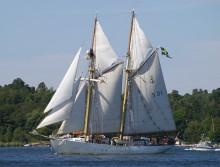 Bernadotteelever återvänder från Atlantseglats