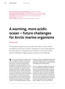 Article in Fram Forum