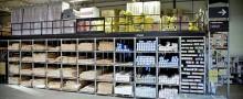 Lagringslösningar för byggprodukter och byggvaruhus