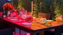 Rotlichtfreier Terrassenheizstrahler Thermalex® für die kühle Saison erhältlich