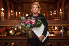 Kristina Lindhe, grundare av Lexington, mottog utmärkelsen Årets Förebildsentreprenör 2018