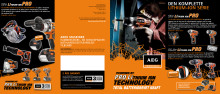 AEG PRO Lithium-Ion brochure