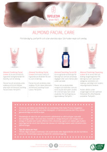 Samlingsblad Almond Facial Care