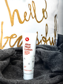 Massage + Aloe Heat Lotion = ♥