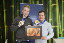 Olympiavoittajat Sami Jauhojärvi ja Iivo Niskanen saavat nimikkoharkon