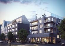 Första kvarteret i Nya Hovås byggs av HSB.