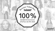 Bonnier Tidskrifter säkrar influenceraffären - utlovar 100%-nöjd-kund-garanti